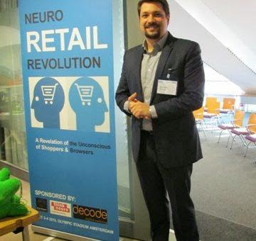 Rafael D'Andrea no evento Neuro Marketing Forum 2013